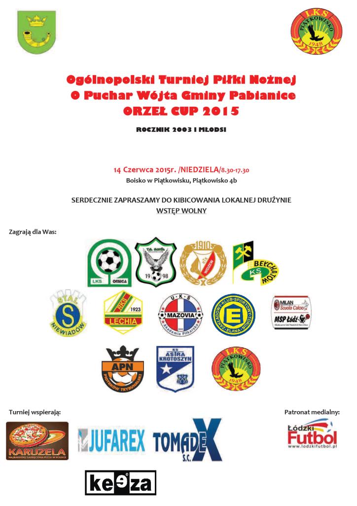 Plakat - Orzeł CUP 2015